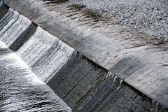 Artificial dam Royalty Free Stock Images
