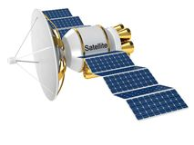 Artificial Earth satellite Stock Images