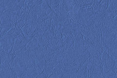 Artificial Eco Leather Light Marine Blue Crumpled Texture Sample Royalty Free Stock Image