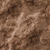 Artificial eroded rock texture or background. In brown stock illustration