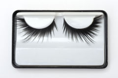 Artificial eyelashes Royalty Free Stock Image