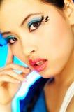 Artificial Eyelashes 2 Stock Photography
