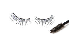 Artificial eyelashes Stock Photo