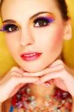 Artificial Eyelashes Royalty Free Stock Image