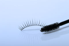 Artificial eyelashes isolated Royalty Free Stock Photos
