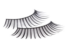 Artificial Eyelashes Isolated Royalty Free Stock Images
