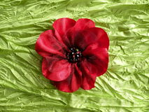 Artificial fabric flower Royalty Free Stock Image