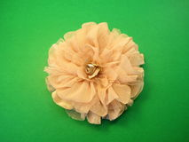 Artificial fabric flowers stock photography