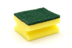 Artificial fibre sponge Stock Images