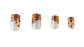 Artificial fingernail Royalty Free Stock Photos