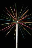 Artificial fireworks Royalty Free Stock Photography