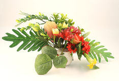 Artificial flower. Closeup of artificial flower image Stock Images