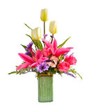 Artificial flower arrangement Royalty Free Stock Image