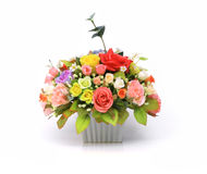 Artificial Flower Arrangement royalty free stock images