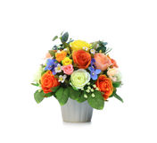 Artificial Flower Arrangement Stock Images