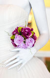 Artificial Flower Bunch. Royalty Free Stock Photo