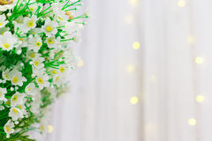 Artificial flower. Artificial cutter flower for wedding and party decoration Stock Image