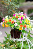 Artificial Flower Decoration. Stock Photo