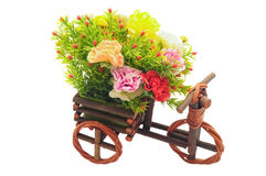 Artificial flower handicraft. Style image Royalty Free Stock Images