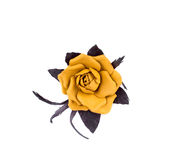 Artificial flower of silk. Royalty Free Stock Image