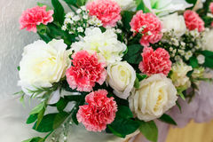 Artificial flower. Artificial flower for wedding and party decoration Royalty Free Stock Photos