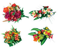 Artificial flowers Stock Photos
