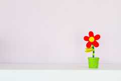 Artificial flowers Stock Images