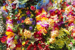 Artificial flowers Stock Photo