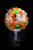Artificial flowers bouquet Royalty Free Stock Image