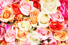Artificial Flowers Stock Photography