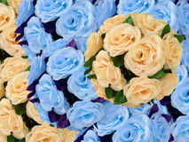 Artificial flowers for decoration Royalty Free Stock Photography
