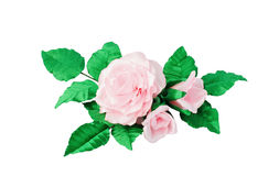 Artificial flowers handmade Royalty Free Stock Images