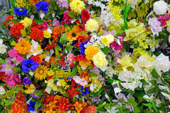 Artificial flowers Royalty Free Stock Images