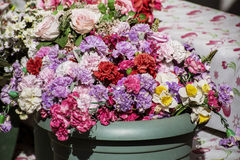 Artificial flowers Royalty Free Stock Photos