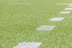 Artificial football pitch Stock Photos