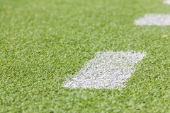 Artificial football pitch Stock Photos