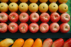 Artificial fruit or fruit model Royalty Free Stock Photos