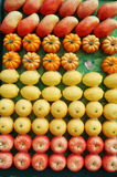 Artificial fruit or fruit model Stock Photo