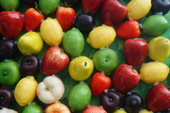 Artificial fruit or fruit model Stock Photography