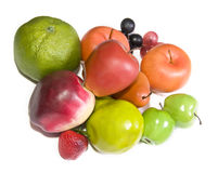 Artificial fruits Royalty Free Stock Image