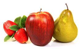 Artificial fruits Royalty Free Stock Photos