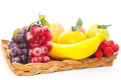 Artificial fruits Stock Photography