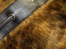 Artificial fur stock image