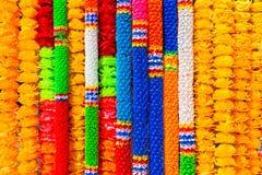 Artificial garlands Stock Images