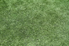 Artificial grass. On a football field for background Stock Image