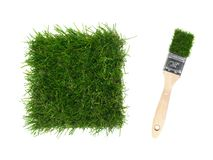 Artificial Grass Stock Image
