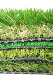 Artificial grass astroturf Royalty Free Stock Photo