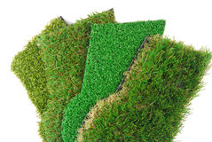 Artificial grass astroturf Stock Photos