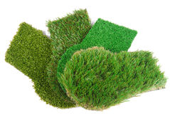 Artificial grass astroturf selection Stock Photography