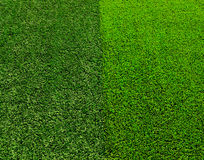 Artificial Grass background. Artificial green grass , turf background Stock Images